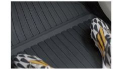 Genuine Volvo XC60 (18-) Rubber Floor Mats (RHD Manual Colour: Charcoal)